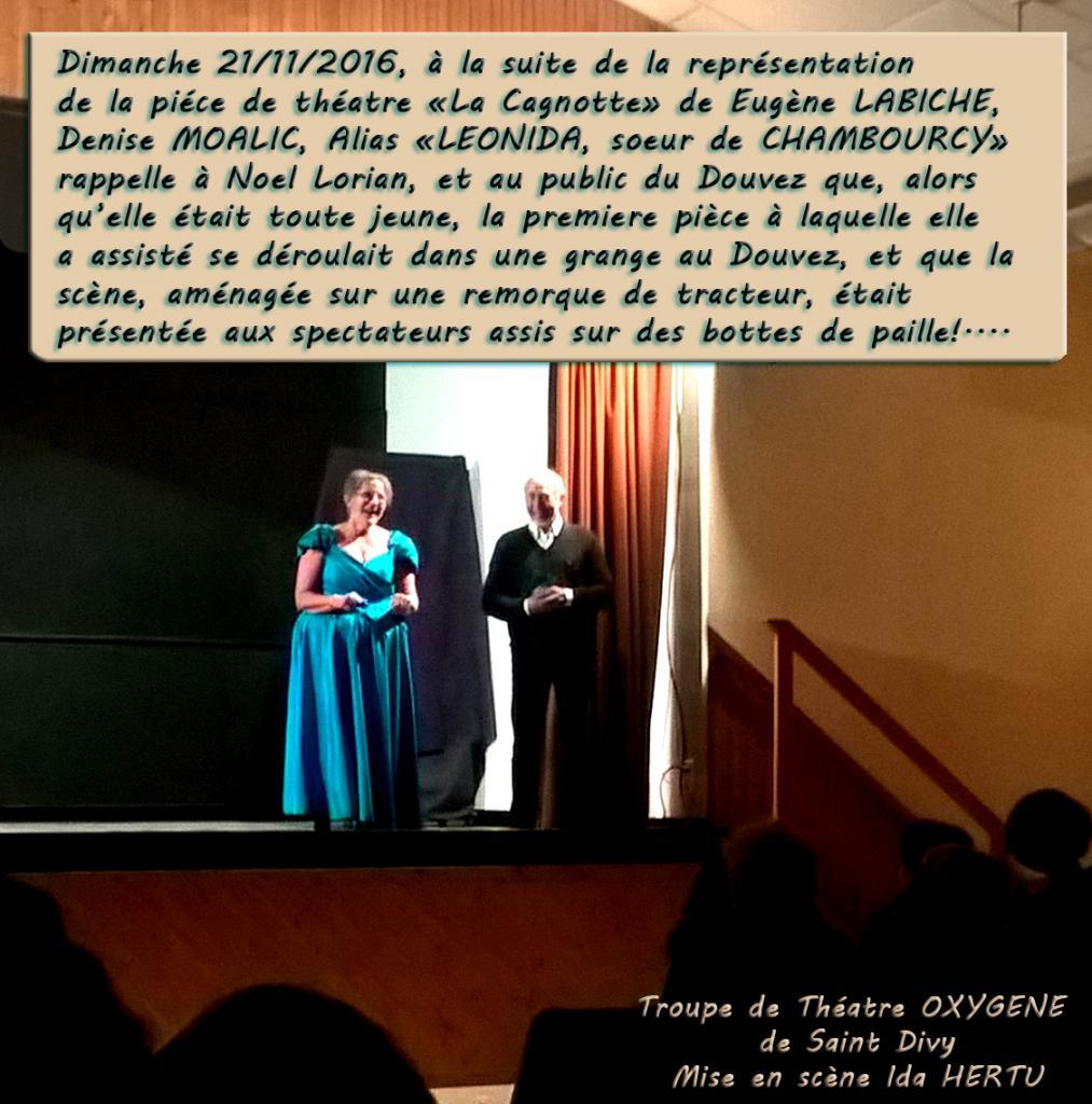 Denise MOALIC de la troupe OXYGENE