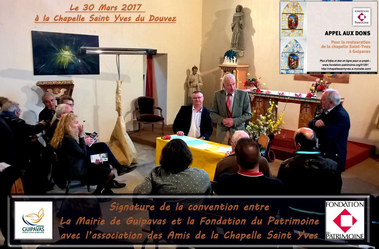 signature convention Mairie fondation_30 Mars 2017