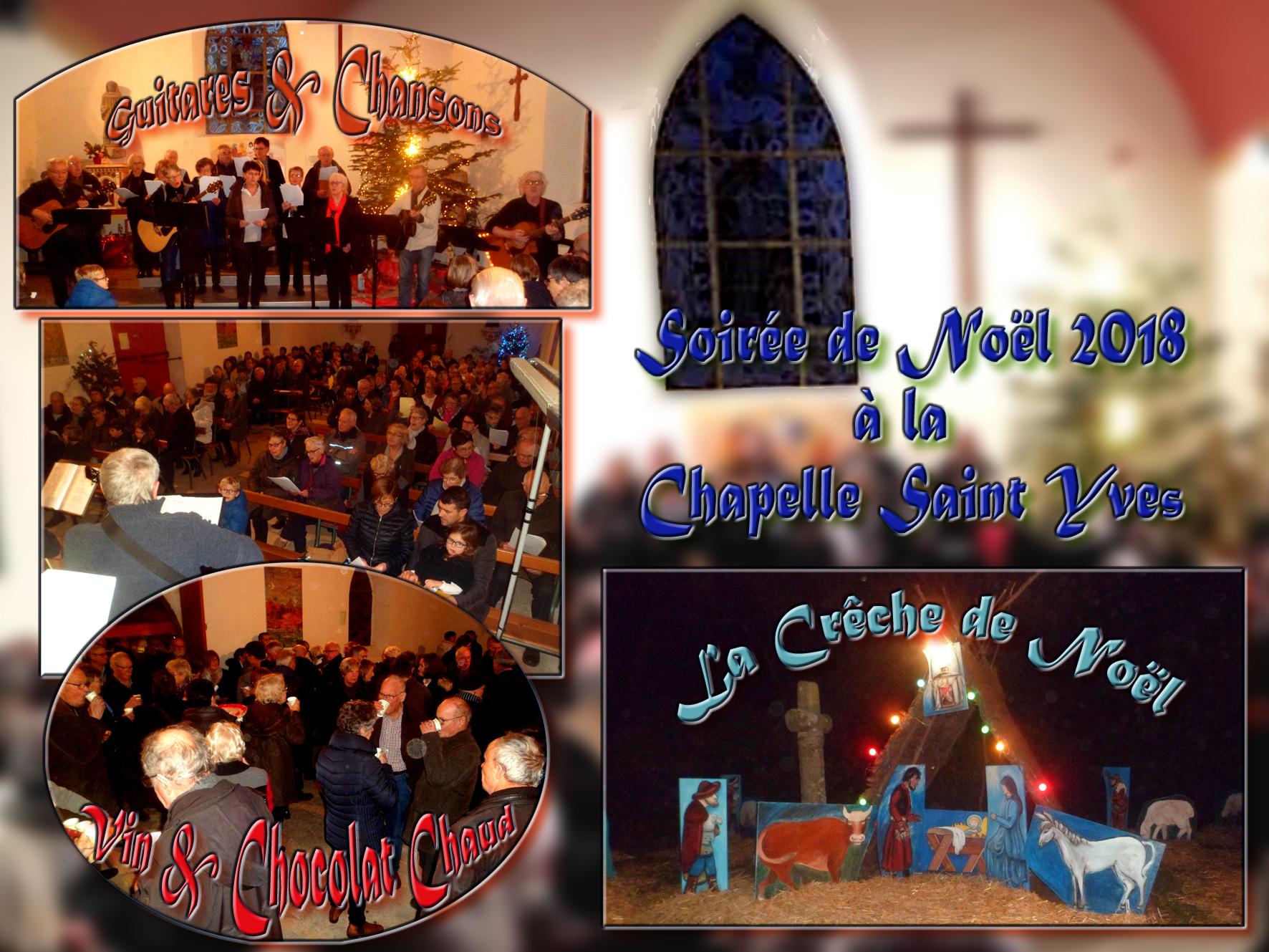 Noel 2018 à la chapelle Saint Yves